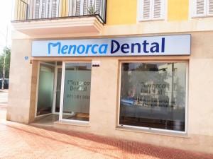 fachada menorca dental